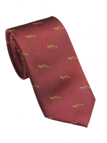 Laksen Fox Tie Vintage Red