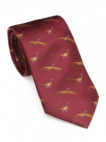 Laksen Fly-By Pheasant Tie Vintage Red