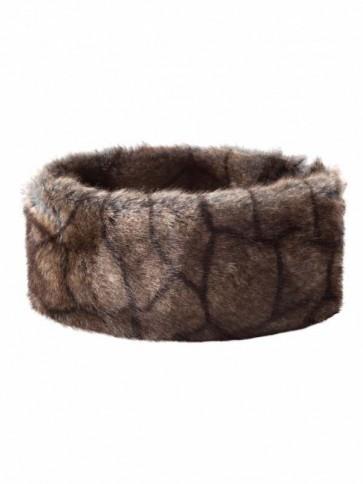 Dubarry Faux Fur Headband Elk