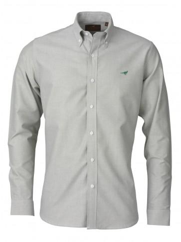 Laksen Harvard Oxford Shirt Herb Green