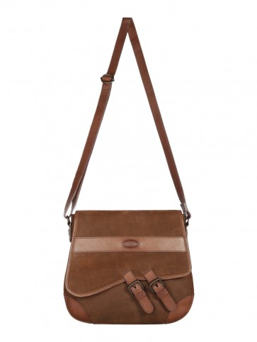 Dubarry Boyne Cross Body Bag Walnut