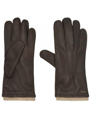 Dubarry Kilconnell Women's Leather Gloves Mahogany