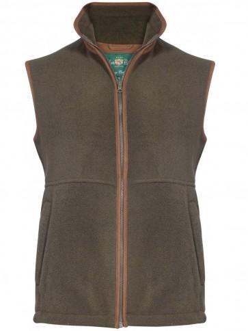 Alan Paine Aylsham Fleece Waistcoat Green