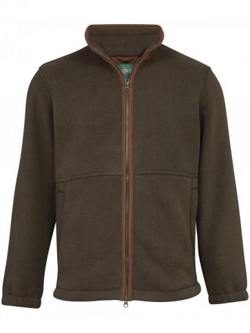 Alan Paine Aylsham Windblock Fleece Green