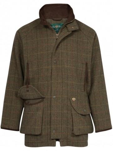 Alan Paine Combrook Men's Tweed Shooting Coat Peat