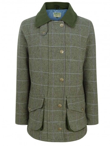 Hoggs of Fife Albany Ladies Tweed Shooting Coat