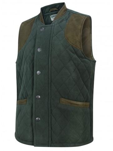 Hoggs of Fife Banchory Waistcoat Dark Green