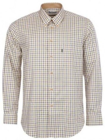 Barbour Sporting Tattersall Shirt Navy/Olive