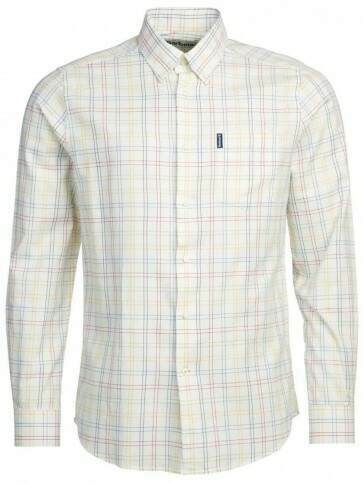 Barbour Tattersall 20 Tailored Shirt Gold