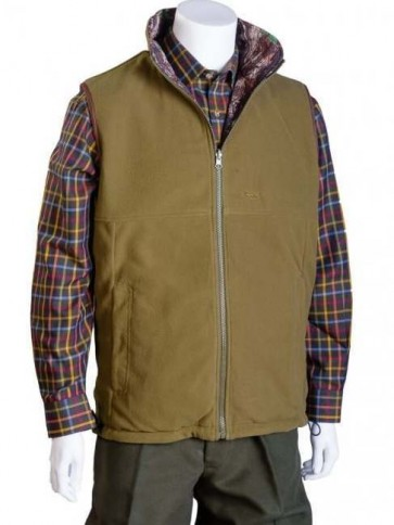 Bonart Douglas Reversible Fleece/Camo Gilet
