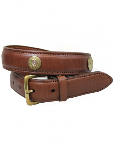 Hicks and Hides Broadway Field Belt (Multi) Mid Brown
