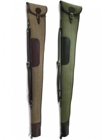Croots Helmsley Tweed Shotgun Slip with Flap and Zip