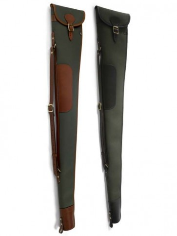 Croots Rosedale Canvas Shotgun Slip with Flap and Zip
