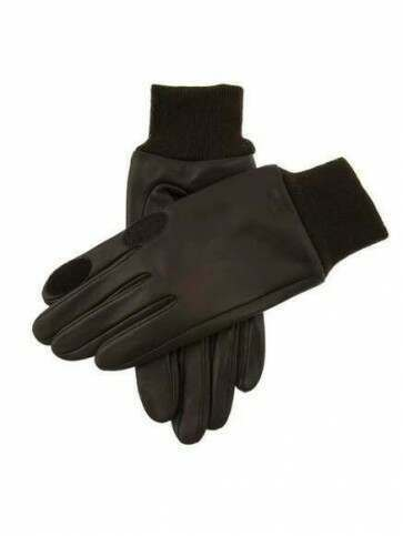 Dents Speyside Leather Shooting Gloves Brown