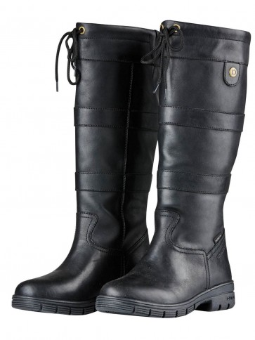 Dublin River Grain Boots Black