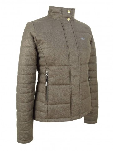 Hoggs of Fife Elgin Quilted Herringbone Jacket