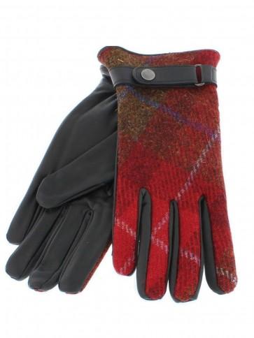 Failsworth Ladies Harris Tweed/Leather Gloves HT22