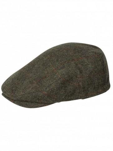 Hoggs of Fife Harewood Waterproof Tweed Cap (Small)