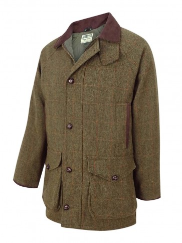 Hoggs of Fife Harewood Lambswool Tweed Shooting Coat