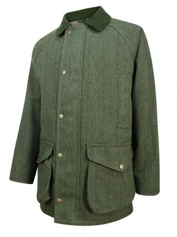 Hoggs of Fife Helmsdale Tweed Jacket Green