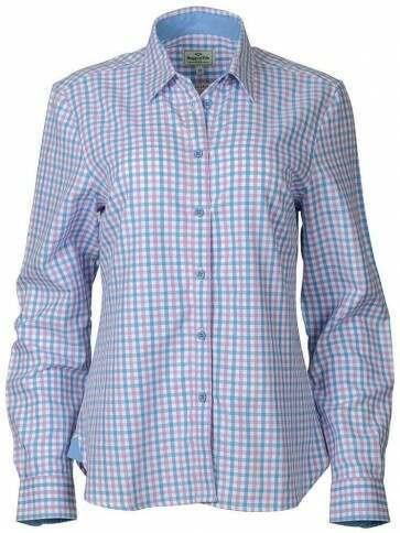 Hoggs of Fife Becky II Shirt Pink/Blue