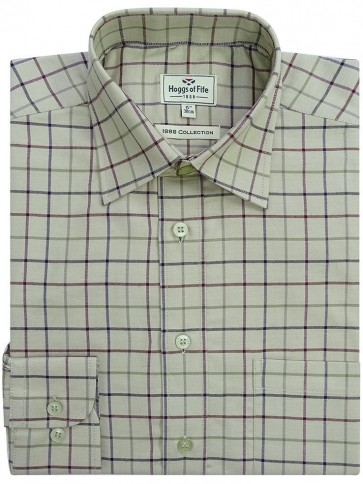 Hoggs of Fife Premier Tattersall Shirt Chieftan