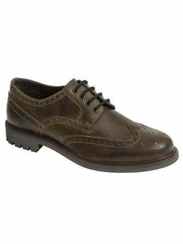 Hoggs of Fife Inverurie Brogues Waxy Brown