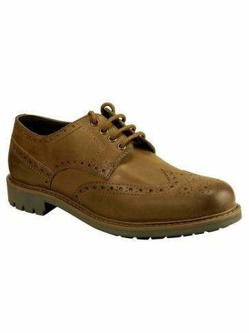 Hoggs of Fife Inverurie Brogues Walnut