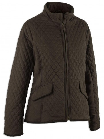 Hoggs of Fife Lexington Quilted Jacket Dark Green