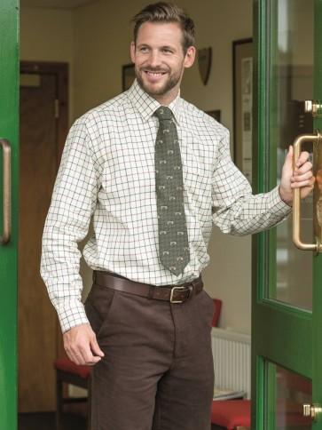Hoggs of Fife Monarch Moleskin Trousers Dark Brown