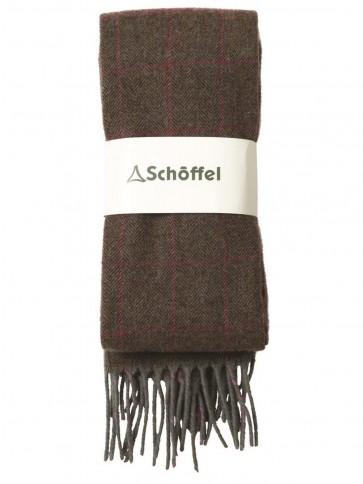 Schoffel House Tweed Scarf Cavell Tweed