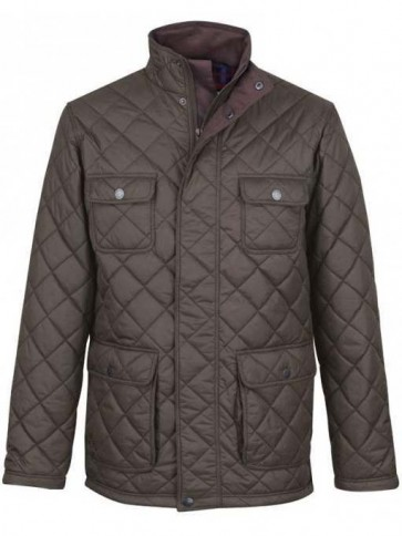 Jack Murphy Bill Quilted Jacket Green