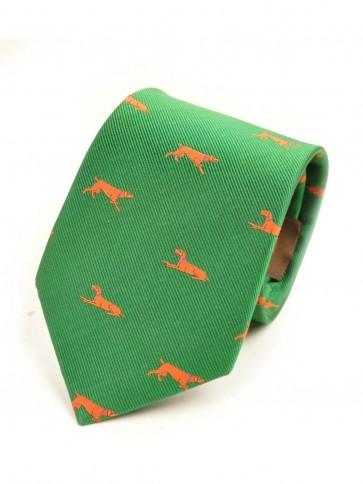 Laksen Dog Tie Shamrock Green