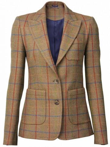 Laksen Melville Ladies Tweed Dress Jacket