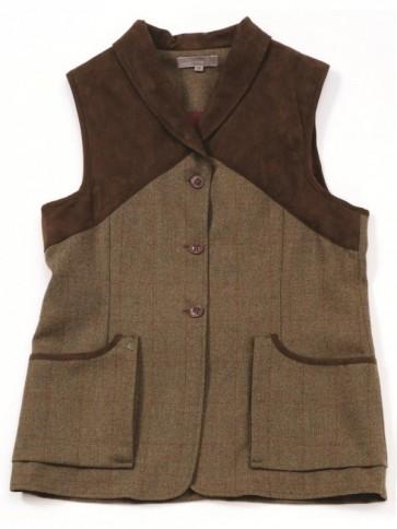 Laksen Teviot Tweed Shooting Vest