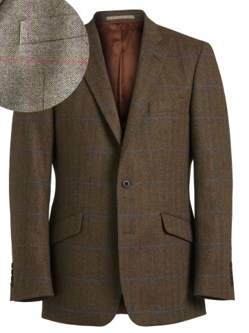 Magee Country Check Tweed Jacket Nice K2 51919