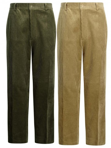Hoggs of Fife Men's Mid Weight Cord Trousers