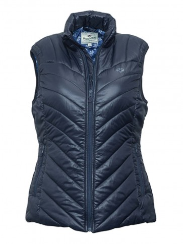 Hoggs of Fife Millie Soft Quilted Gilet Navy