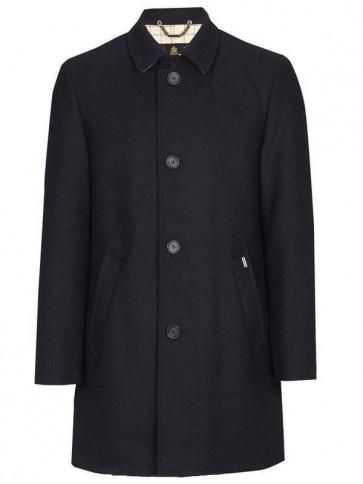 Barbour Pershore Wool Jacket Navy