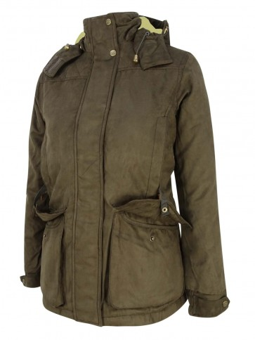 Hoggs of Fife Rannoch Ladies Hunting Jacket Dark Green
