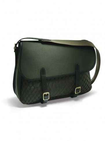 Croots Rosedale Canvas Game Bag Loden Green