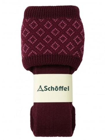 Schoffel Ladies Diamond Sock