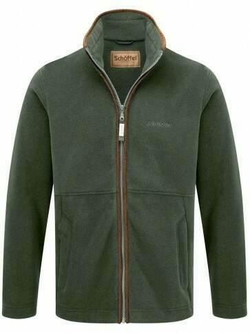 Schoffel Cottesmore Fleece Jacket Cedar Green