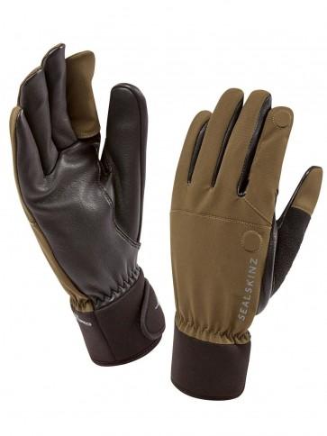 SealSkinz Shooting Gloves Olive