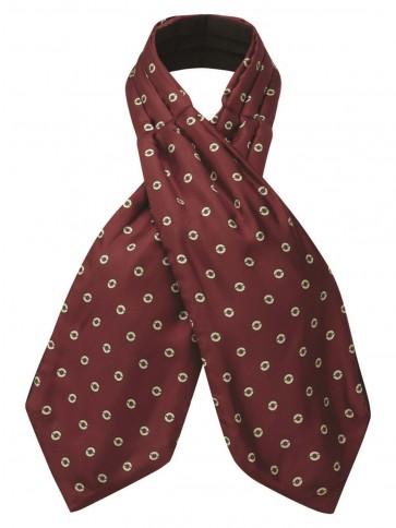 Schoffel Silk Shooting Cravat Red