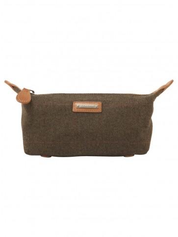 Schoffel Windsor Tweed Wash Bag