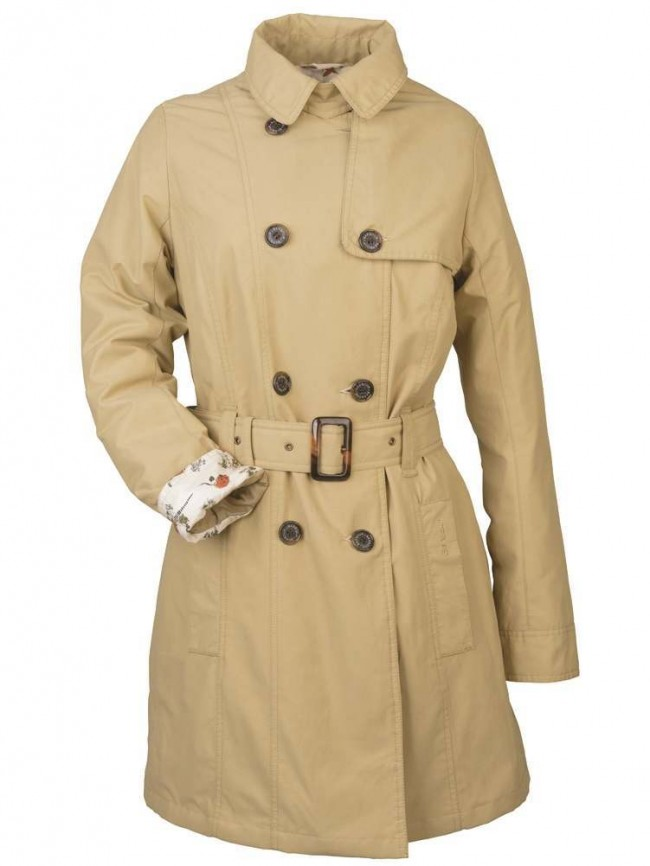 70b2ee71deeb4 Barbour Hodder Summer Weight Ladies Trench Jacket Trench
