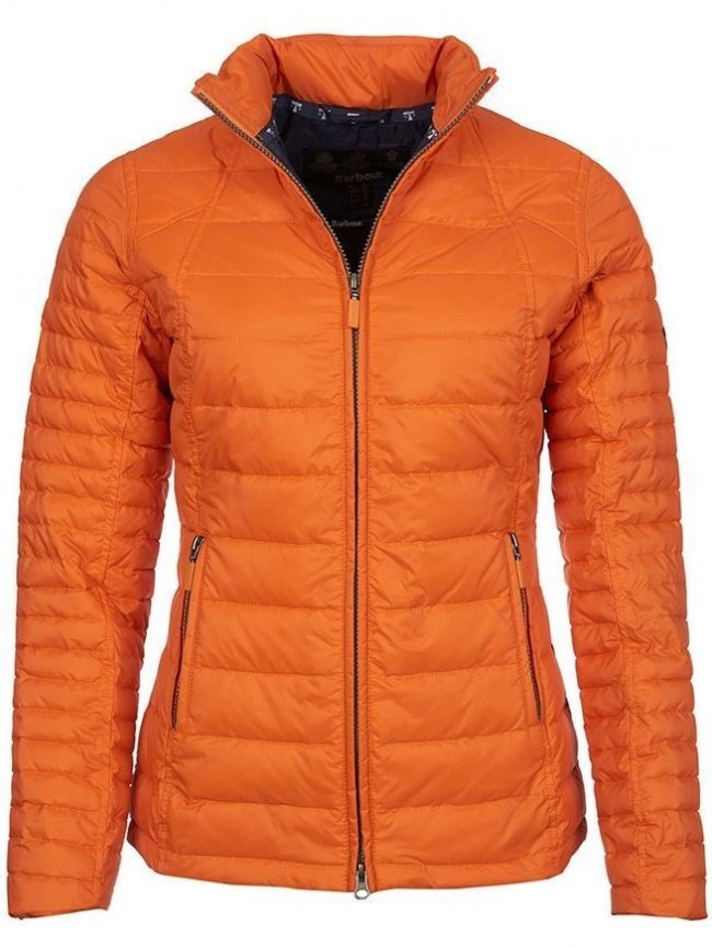 Barbour Chock Quilted Jacket Marigold