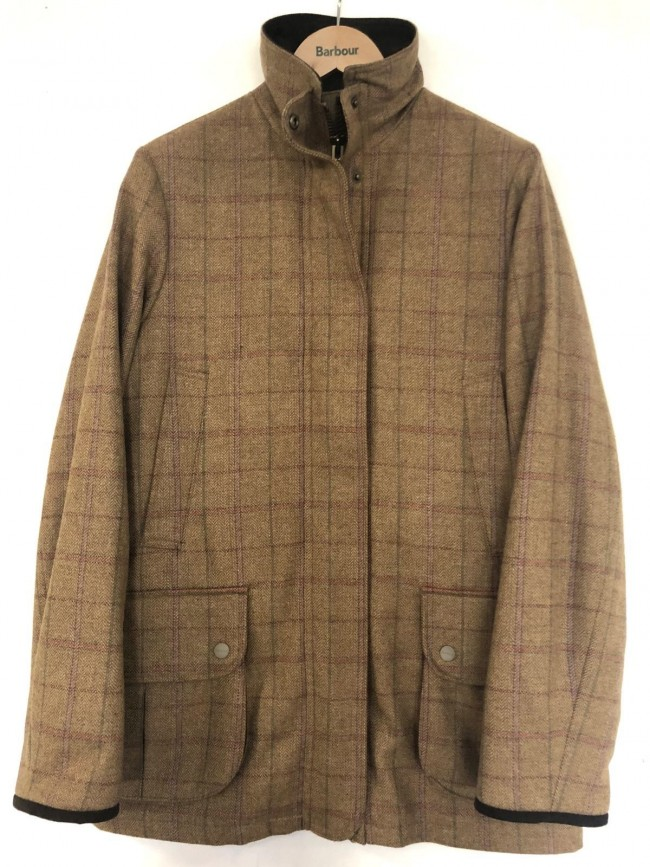 official high quality pretty cool Barbour Linhope Berwick Tweed Coat