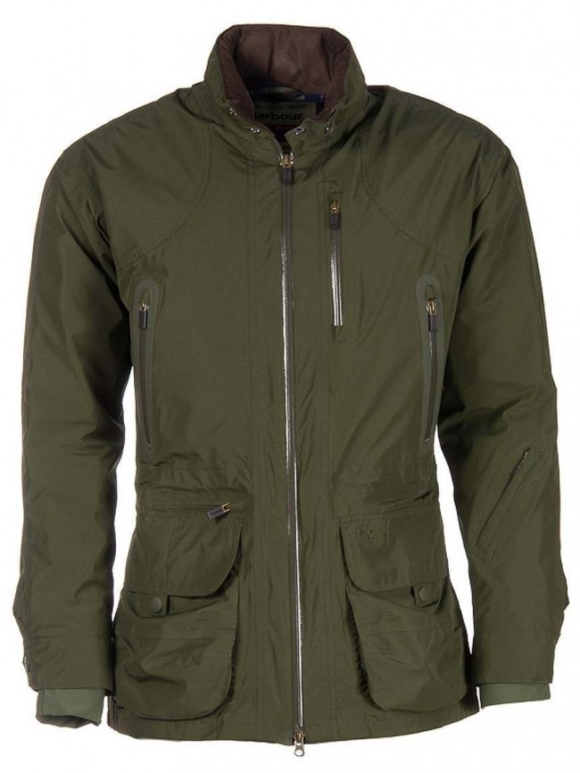 Barbour Swainby Olive Jacket · Zoom 1112040688a1
